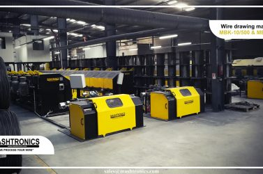Wire drawing machines MB10&MBK7